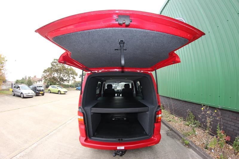 Seat Bed Storage Systems Unique Vans